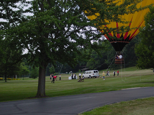 Tethered Hot Air Balloon Rides in Grove City OH