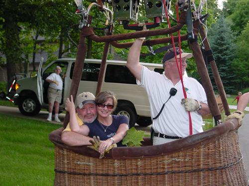 Hot Air Balloon Rides in Grove City OH