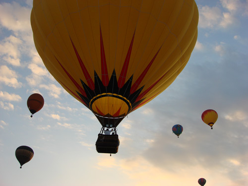 Hot Air Balloon Rides in Columbus OH